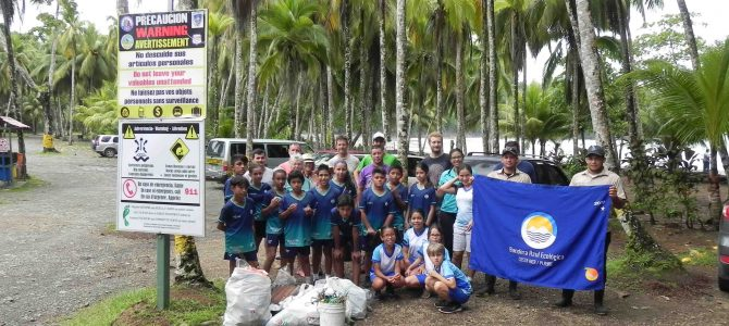 World Ocean Day was celebrated with beach cleanup and Bandera Azul hoisting