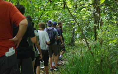 Students from Atlanta visited RPT and learned about biodiversity