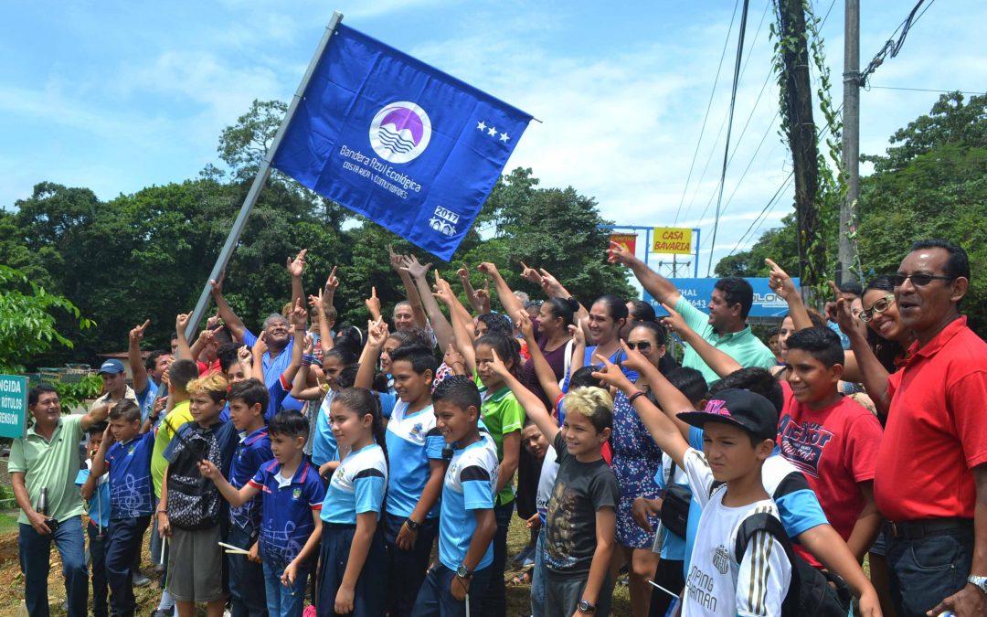 Invitación a participar en celebración de Iza de Banderas Ecológicas Ojochal
