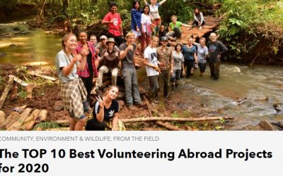 RPT is the number one on the TOP 10 Best Volunteering Abroad Projects for 2020